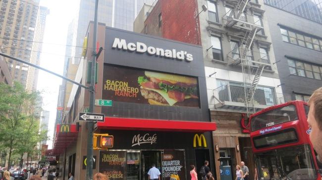 McDonalds NYC